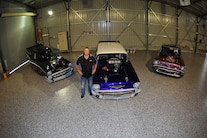 002 1957 Chevy Drag Car Collection