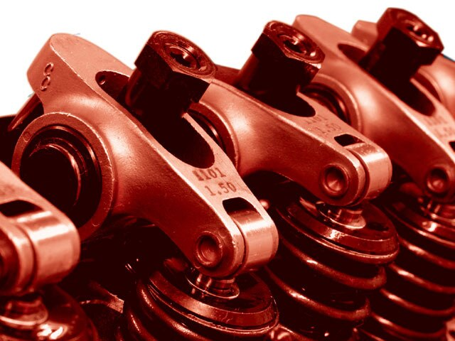 "COMP Cams Rocker Arms 3//8/"" Stud Mount Roller Tip Steel 1.6 Ratio Olds 455 Kit"