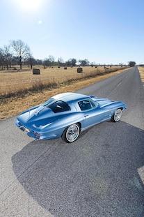 11 1963 Corvette Coupe C2 Split Window Fuel Injected Walters