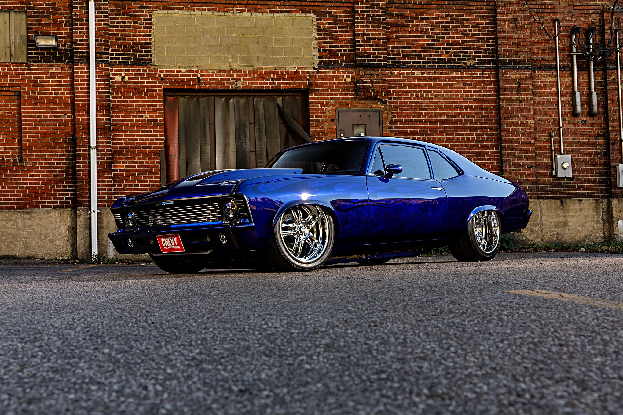 Custom-Built, Big-Block-Powered 1970 Nova Street Beast