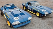 C2 Corvette Race Cars - Corvette Royale