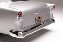 17 1955 Chevrolet 210 Sedan Post Bugjaski Rear End