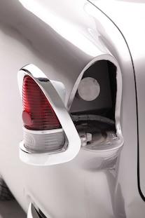 04 1955 Chevrolet 210 Sedan Post Bugjaski Tail Light