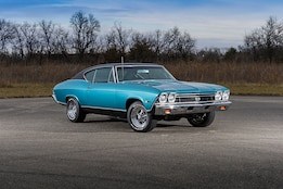 Day-Two Restored 1968 Chevelle Time Capsule
