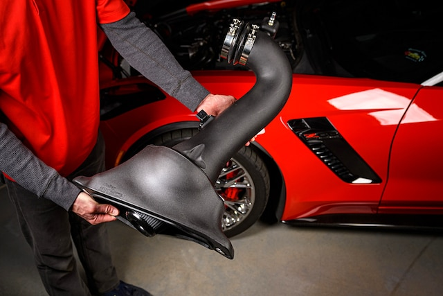 01 C7 Z06 Corvette Holley Intech Cold Air Intake