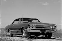 003 1967 Chevrolet Chevelle Ss396 L78 Front Three Quarter
