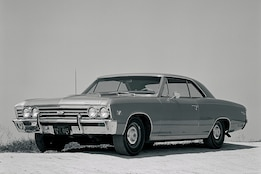 Vintage Road Test: Comparing Three Flavors of Big-Block 1967 Chevelles -Including One with a Bed