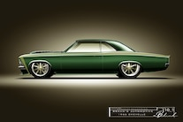 020 1966 Chevelle Brauns Motorsports Fabricated Chassis