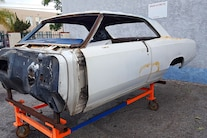 003 1966 Chevelle Brauns Motorsports Fabricated Chassis