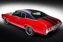 002 1972 Chevelle Red Elegance Mark Lopez FiTech Eddie Motorsports Billet Forgeline Big Block Don Lee Auto