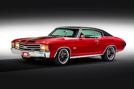 A beautifully restored 1972 Chevelle SS takes a walk on the wilder side