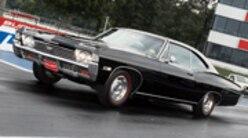 Sucp 0701 01 Pl Big Block Chevy Impala 68 Chevy Impala Wheelie