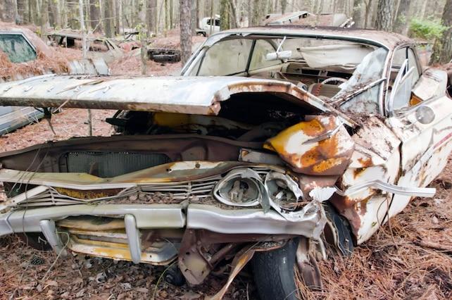 1961 Junkyard Gold Impala 001