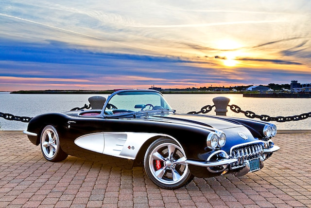 03 1960 Corvette 383 V8 Suppo