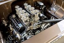 1955 Chevy Bel Air Custom Lopez Elegance Brown 049