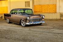 1955 Chevy Bel Air Custom Lopez Elegance Brown 047