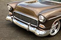 1955 Chevy Bel Air Custom Lopez Elegance Brown 043