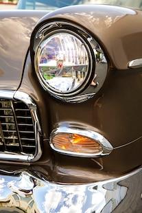1955 Chevy Bel Air Custom Lopez Elegance Brown 007