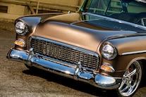 1955 Chevy Bel Air Custom Lopez Elegance Brown 006