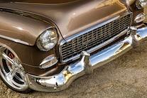 1955 Chevy Bel Air Custom Lopez Elegance Brown 005