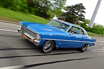 1967 Pro Street Nova Twin Turbo Blue 030