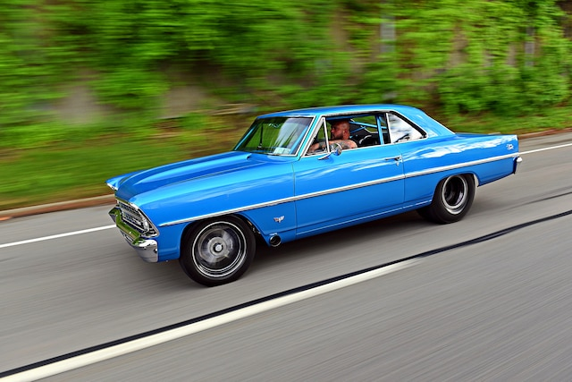 1967 Pro Street Nova Twin Turbo Blue 001