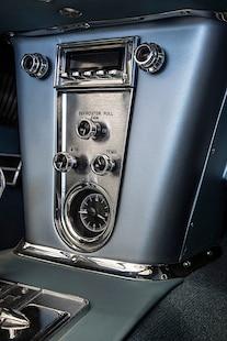 1959 Corvette C1 Ls Frost Blue Metallic Paint 023
