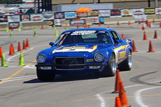 Driving The Team Speedway Camaro Mary Pozzi 001