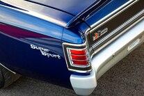 1967 Chevelle HRCC Pro Touring Blue Sema Lsa 012