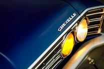 1967 Chevelle HRCC Pro Touring Blue Sema Lsa 008