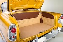 031 1956 TMI Chevy Gold SEMA Custom Interior Fitech
