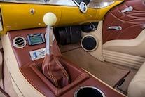 026 1956 TMI Chevy Gold SEMA Custom Interior Fitech