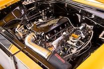 016 1956 TMI Chevy Gold SEMA Custom Interior Fitech