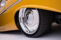 011 1956 TMI Chevy Gold SEMA Custom Interior Fitech