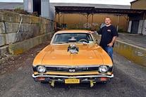 033 1968 Chevy Nova Gold Sbox Blown Street Drag Blower Budget
