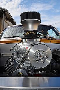 031 1968 Chevy Nova Gold Sbox Blown Street Drag Blower Budget