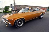 009 1968 Chevy Nova Gold Sbox Blown Street Drag Blower Budget