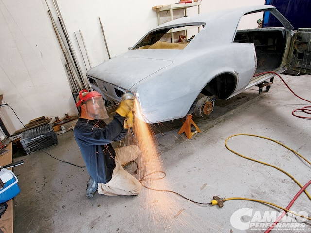 Camp 1001 01 1968 Chevy Camaro Quarter Panel Cut