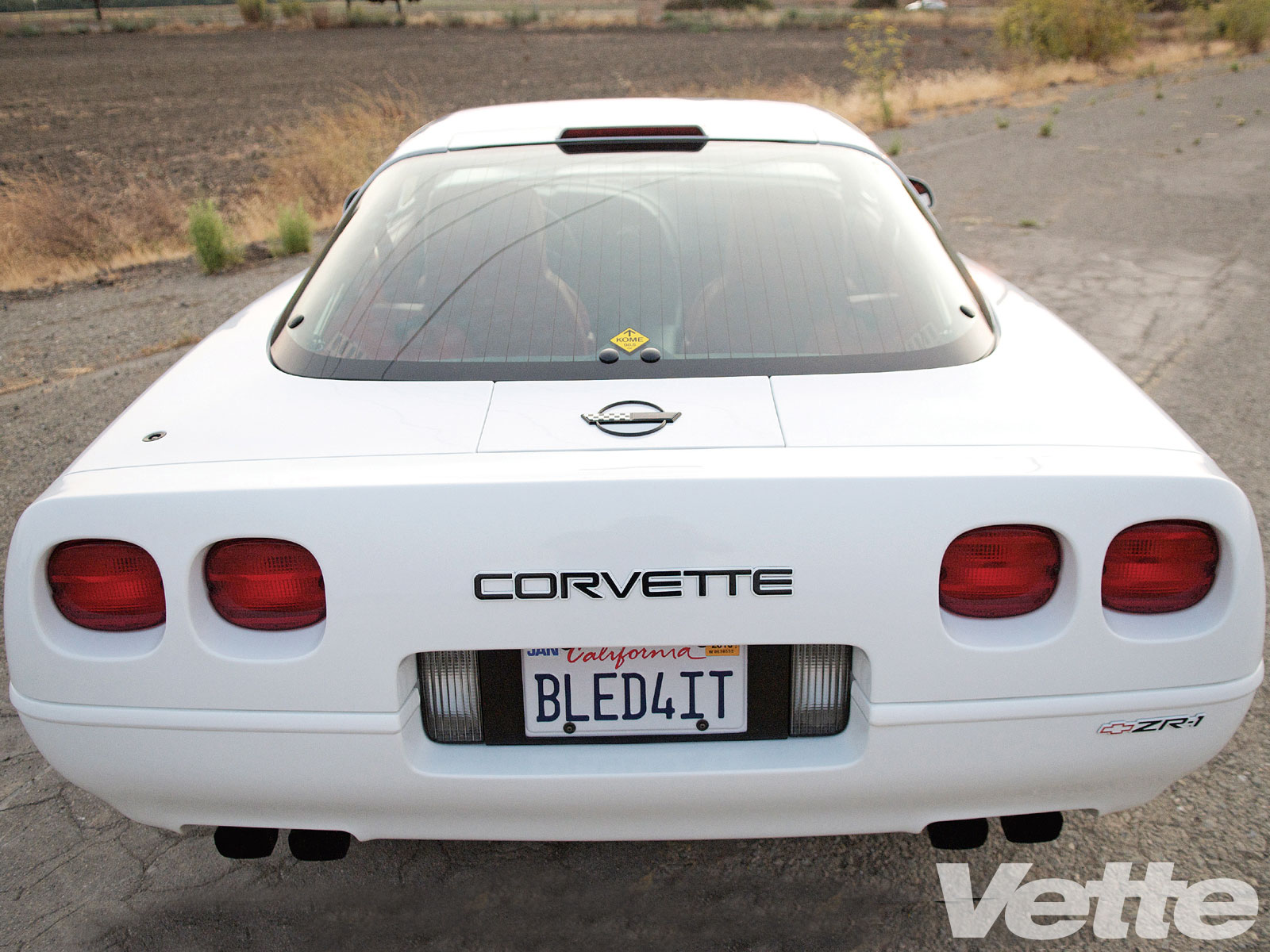 Vemp 1002 02 O C4 Corvette Zr 1 Rear