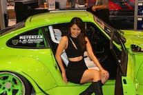 086 2018 SEMA SHOW LAS VEGAS CARS GIRLS