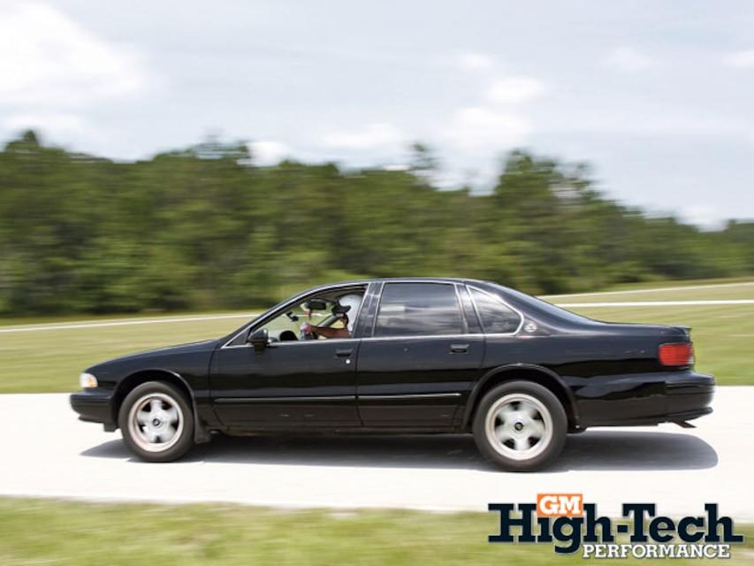 1995 Chevy Impala SS Suspension Upgrades - GM High-Tech