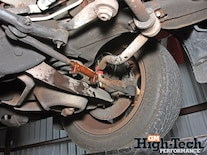 0911gmhtp_06_z 1995_chevy_impala_ss_suspension_upgrades Rust_damage