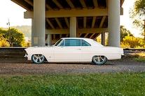 003 1967 Nova SS White Big Block Pro Touring