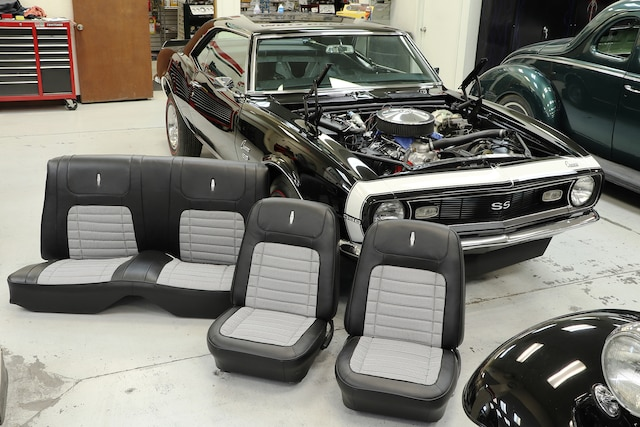 How to Reupholster Classic 1968 Camaro Seats