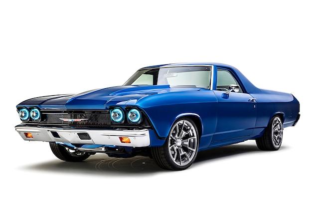001 1967 El Camino Blue TMI LS Fitech
