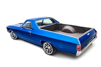 002 1967 El Camino Blue TMI LS Fitech