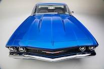 006 1967 El Camino Blue TMI LS Fitech