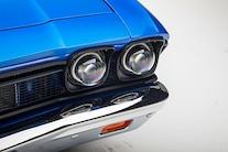 008 1967 El Camino Blue TMI LS Fitech