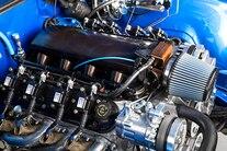 022 1967 El Camino Blue TMI LS Fitech