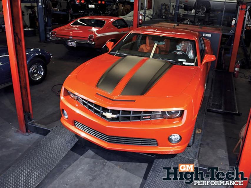 2010 Chevy Camaro SS Engine Tuning - GM High-Tech Performance Magazine